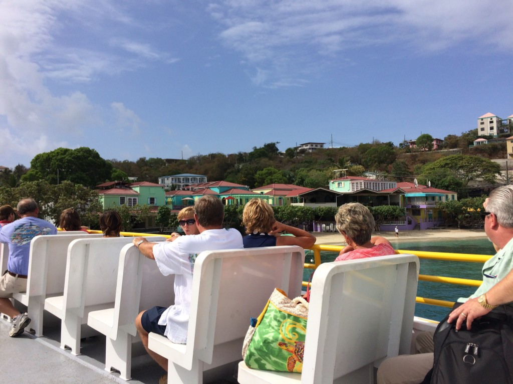 ferry to st. john usvi