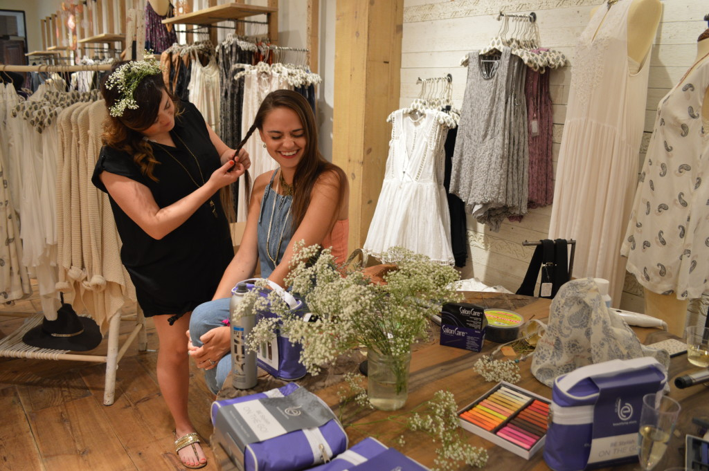 Free people richmond anniversary event the crystal press for 1213 salon richmond va